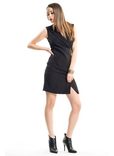 İroni Elbise Siyah